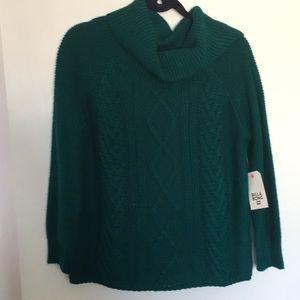 Billabong Emerald Green Knitted Sweater